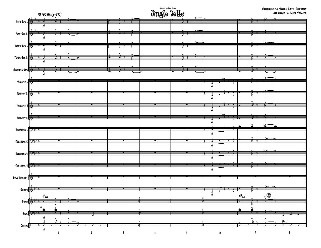 Jingle Bells-Score-page 1